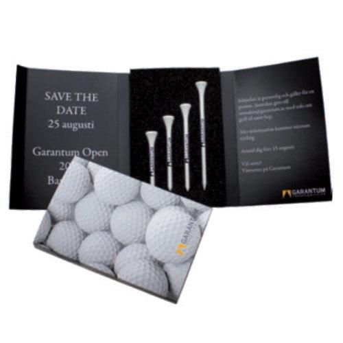 Golf tees med logo