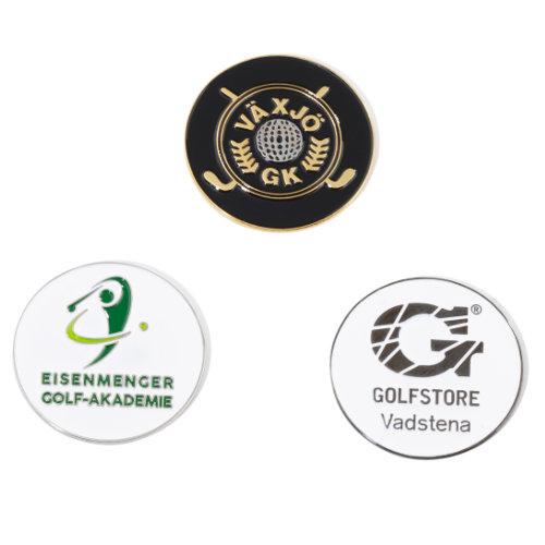 Golf markeringsmærke metal