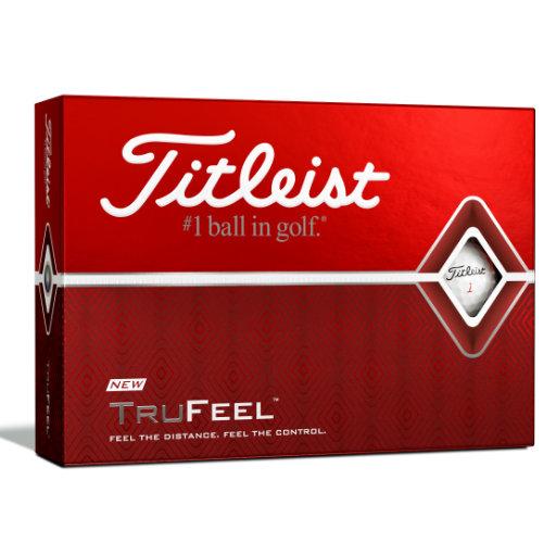 Titleist TruFeel golfbolde med logo