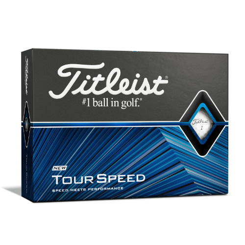 Titleist golfbolde med logo Tour Speed