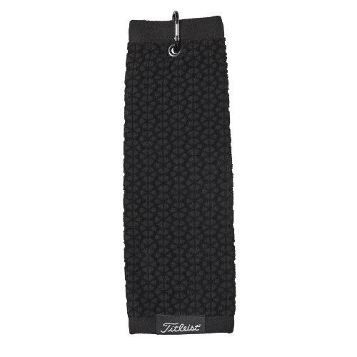 Titleist golf håndklæde med logo broderi trifold