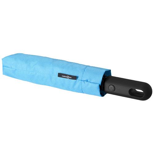 Taskeparaply med logo model traveler
