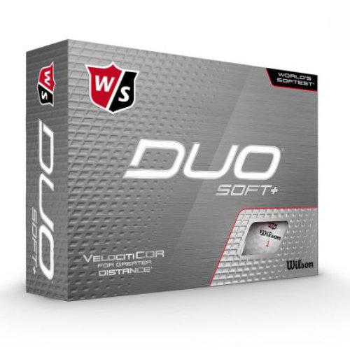 Wilson Duo Soft golfbolde med logo