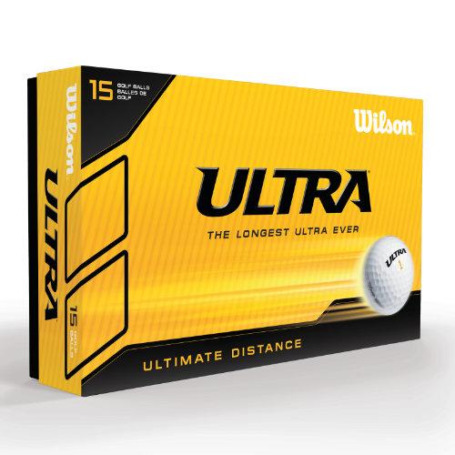 Wilson Ultra golfbolde med logo