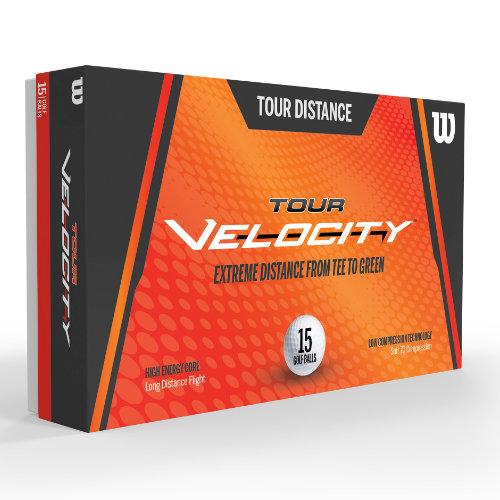 Wilson Tour Velocity golfbolde med logo