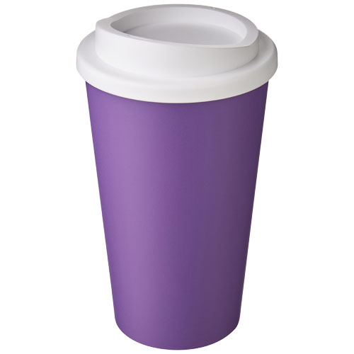 To-go krus, plast med logo, model Americano 350 ml