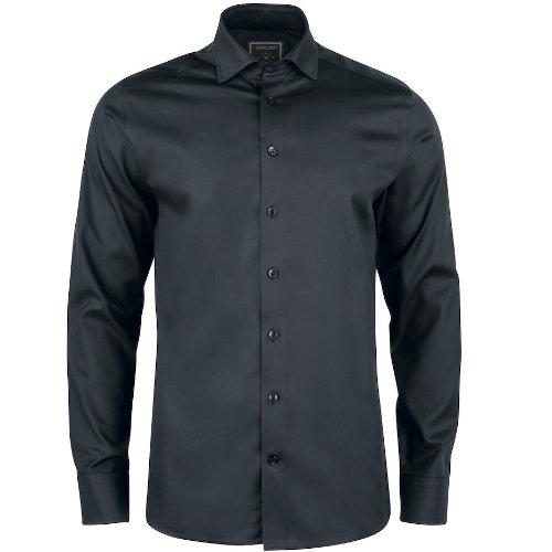 Skjorte med logo Harvest and Frost black bow