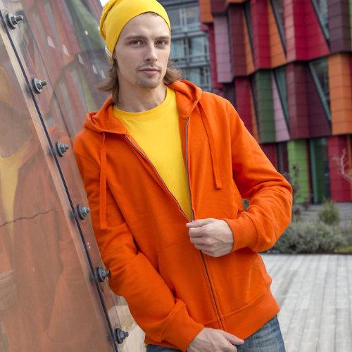 Hættetrøje med logo cottover øko fairtrade
