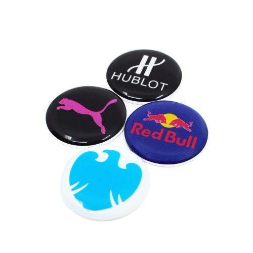 Golf ball marker med logo
