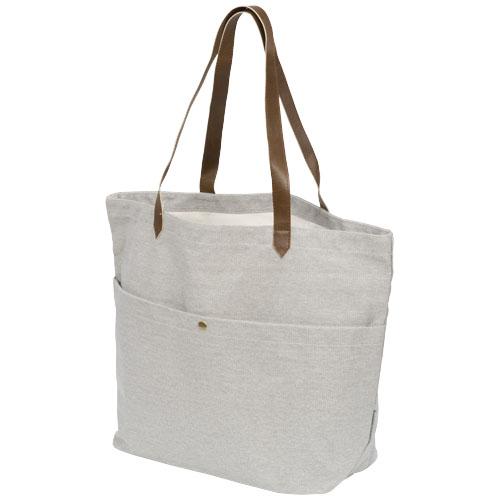 Luksus shopper taske med logo model Harper