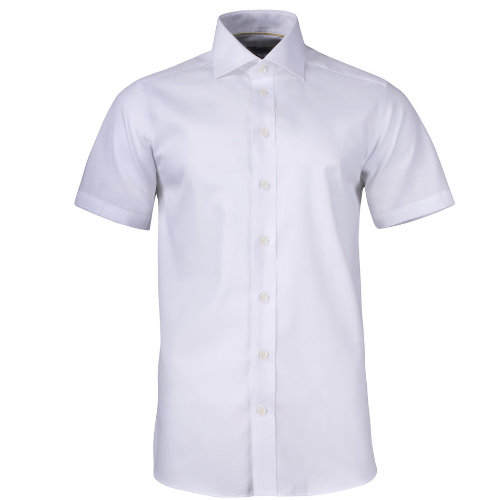 Skjorte med logo Harvest and Frost yellow bow kortærmet