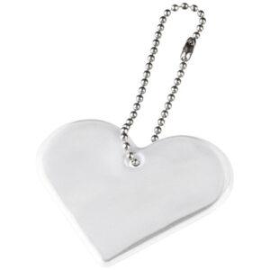 Refleks med logo, model hjerte