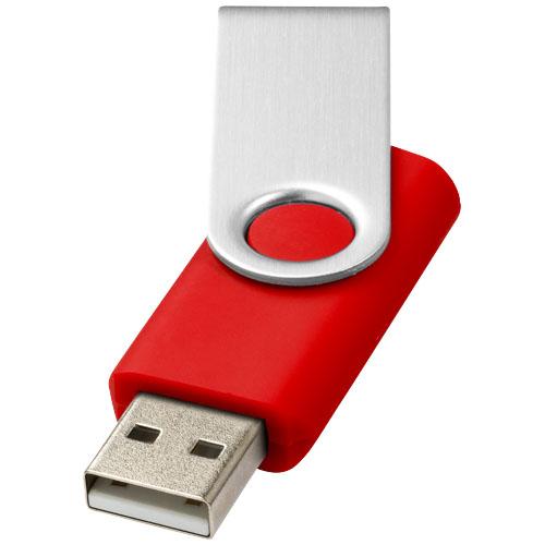 USB med logo model rotate