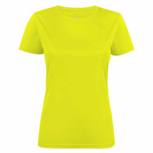 Basis sports t-shirt med logo, dame, model Run