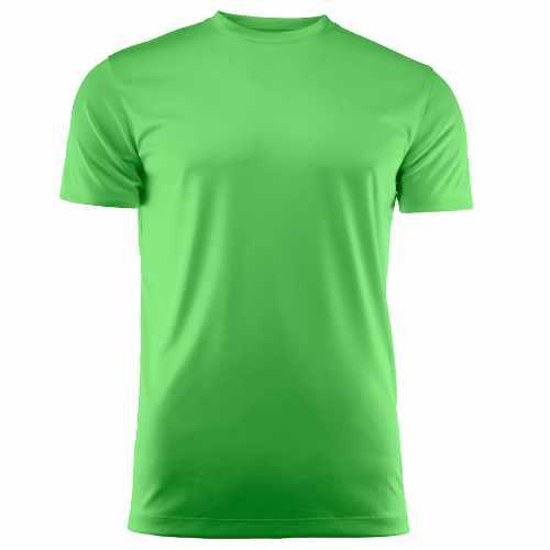 Basis sports t-shirt med logo, dame, model Run