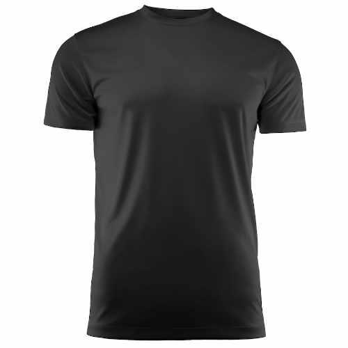 Basis sports t-shirt med logo, herre, model Run