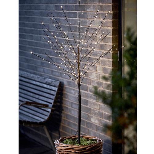 Lystræ med LED