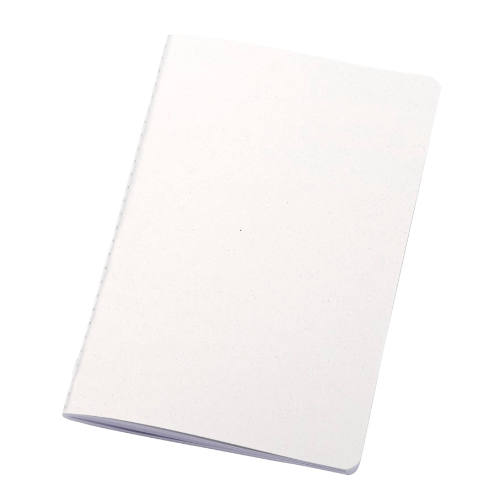 Miljøvenlig notesbog med tryk, genbrugsmaterialer, model Fabia Cahier