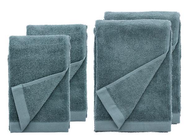Södahl håndklæder Comfort Organic atlantic