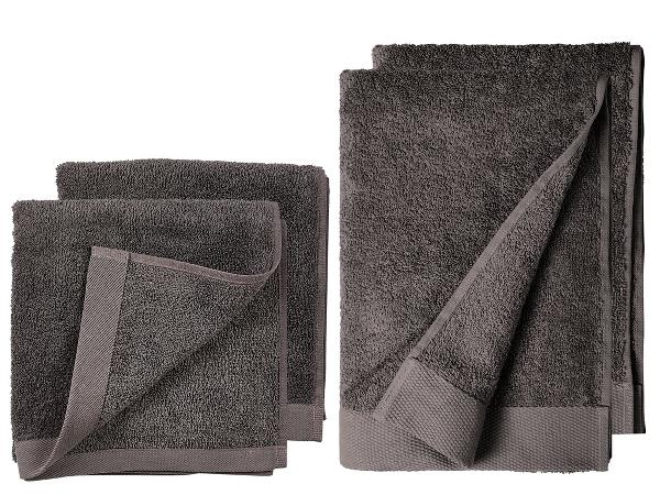 Södahl håndklæder Comfort Organic grå