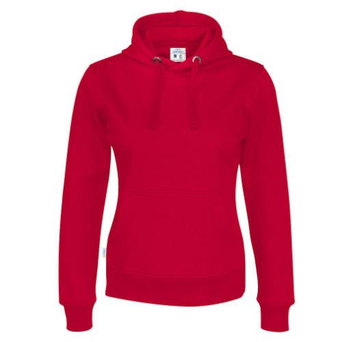 Hættetrøje med logo, Økologisk, Fairtrade, dame, Cottover