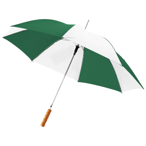 Stor paraply med logo, Ø 102 cm, model Lisa block