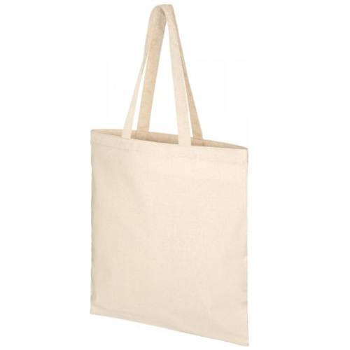 Mulepose med tryk, genbrugsbomuld, model Pheebs kanvas
