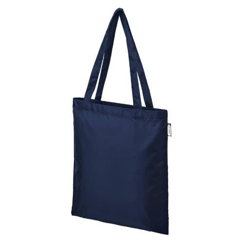 Miljøvenlig mulepose med logo, RPET materiale, model Sai