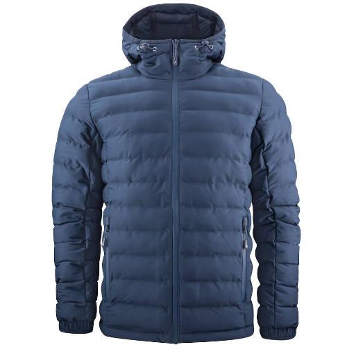 Vatteret jakke med logo, herre, model Woodlake
