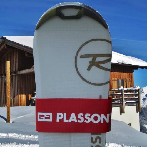 Ski straps med logo