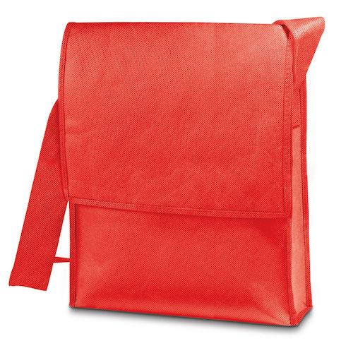Skuldertaske med tryk, non-wowen, model Nash bag