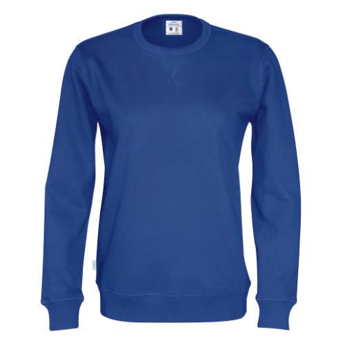 Sweatshirt med logo, unisex, Økologisk, Fairtrade, Cottover