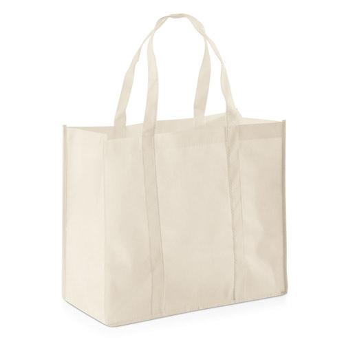Stor shopper taske med tryk, model Shopper
