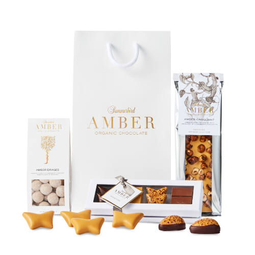 Summerbird gavepose Amber