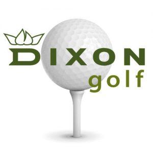 Golfbold-med-logo-dixon