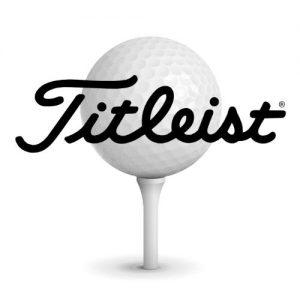 Golfbold-med-logo-titleist