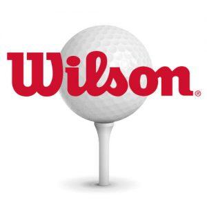 Golfbold-med-logo-wilson