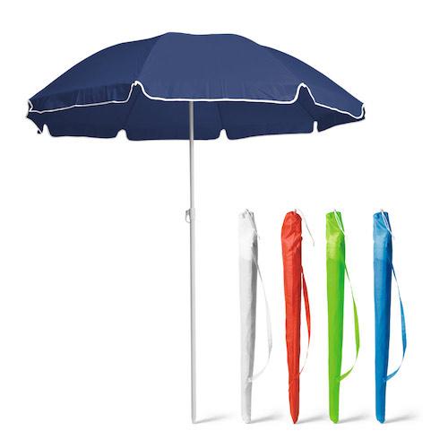 Parasol med logo