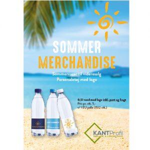 Sommer merchandise med logo