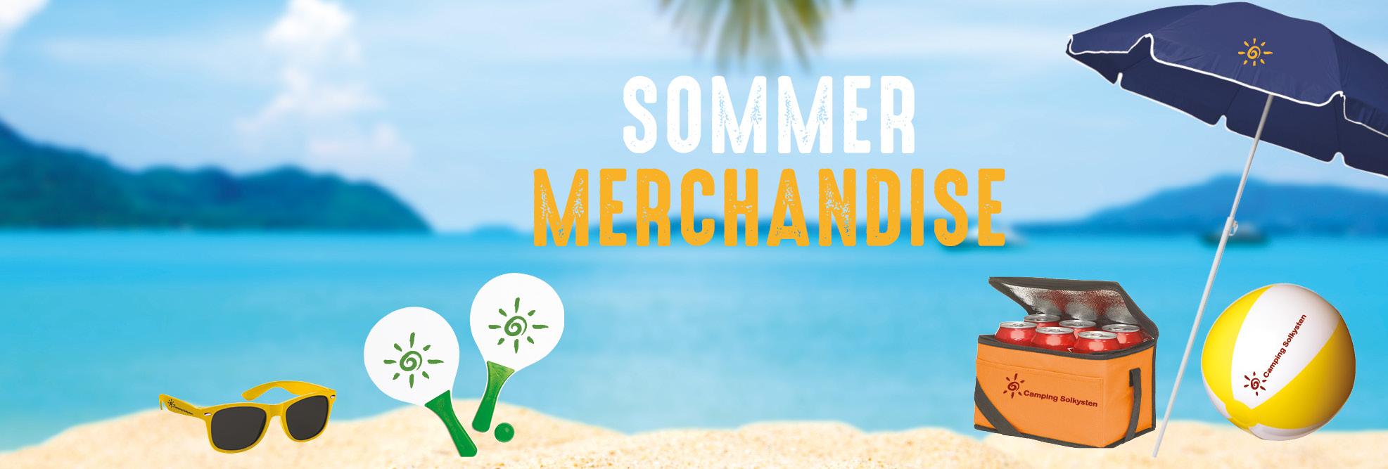 Sommer merchandise