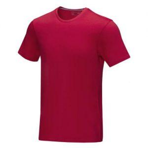T-shirt med logo, Økologisk, model Azurite
