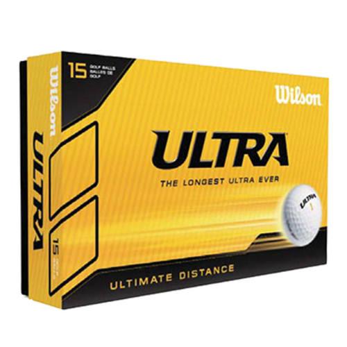 Wilson-golfbolde-med-logo-ultra-lue-distance