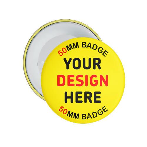 Badge design selv 6 cm