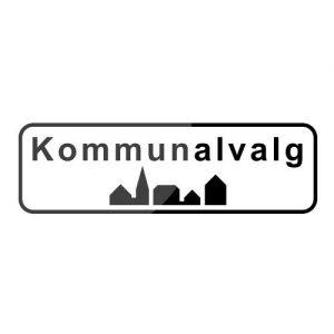 Kommunalvalg-skilt
