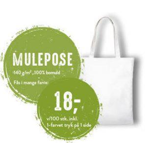 mulepose til skole