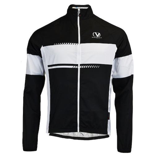 Vangard cykel vindjakke med logo sort
