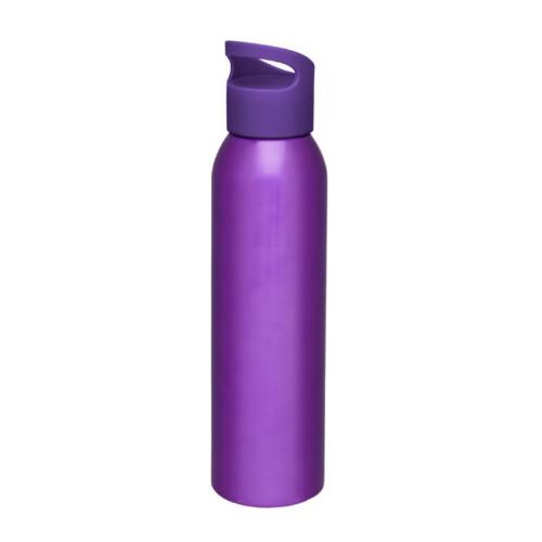 Alu-vandflaske-med-logo-sky-lilla