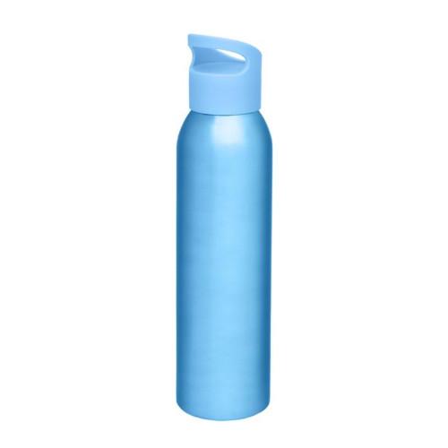 Alu-vandflaske-med-logo-sky-lyseblå