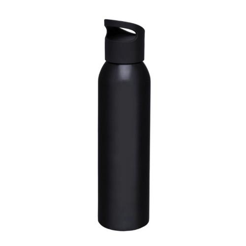 Alu-vandflaske-med-logo-sky-sort