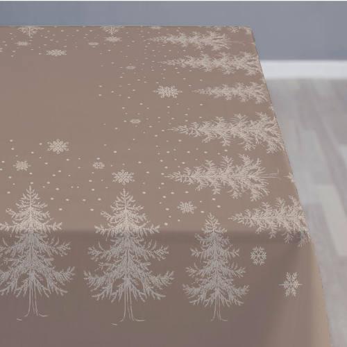 Södahl damask juledug winterland beige